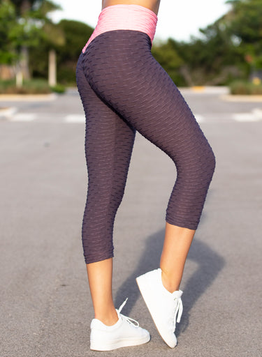 Honeycomb Mix Capris