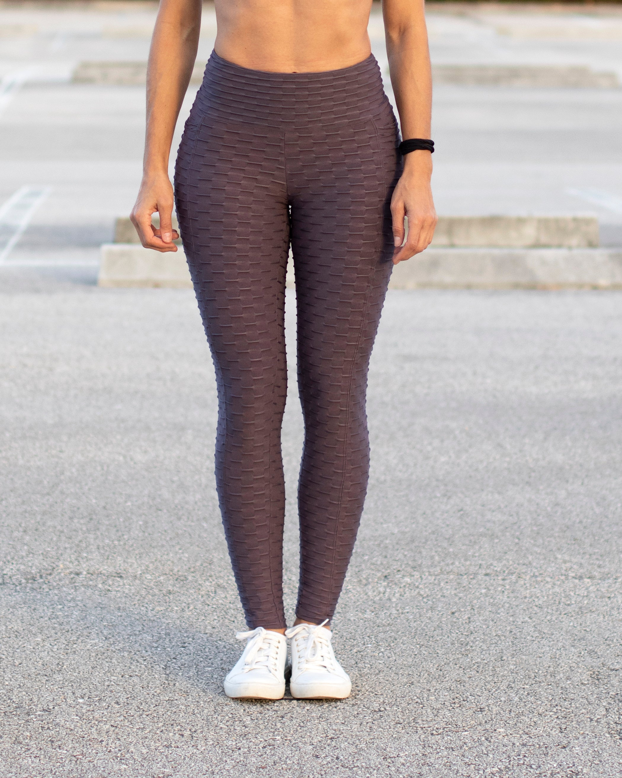 Honeycomb Leggings with Pocket