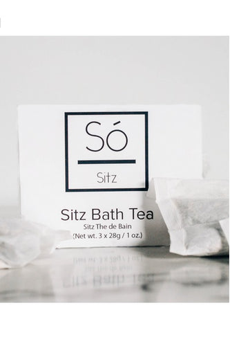 So Luxury Sitz Bath Tea
