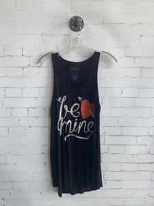 Be Mine Tank Black - LG