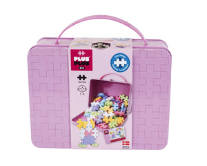 Plus Plus Metal Suitcase - BIG Pastel 70 pieces