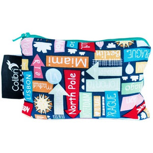 Colibri Reusable Snack Bag Small - Destination