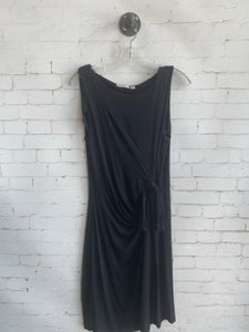Ripe Side Tye Dress Black -MED