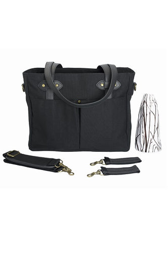 SoYoung Emerson Black Diaper Tote
