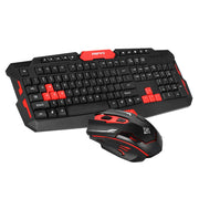 2.4GHz Wireless Keyboard Gaming Keyboard Mouse Combo - MAXELAR
