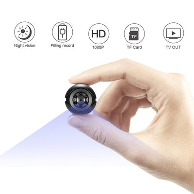 SQ6 Mini Camera 1080P Sensor Portable Security Camcorder - MAXELAR