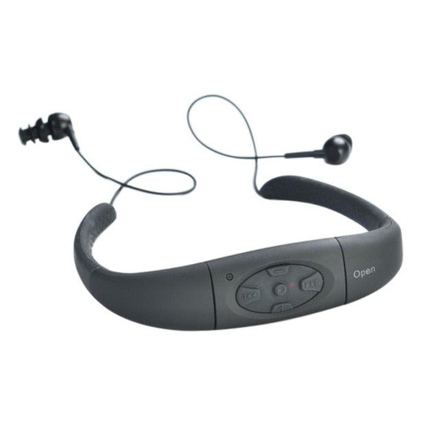 4GB 8GB MP3 Headphone Audio Headset with FM - MAXELAR