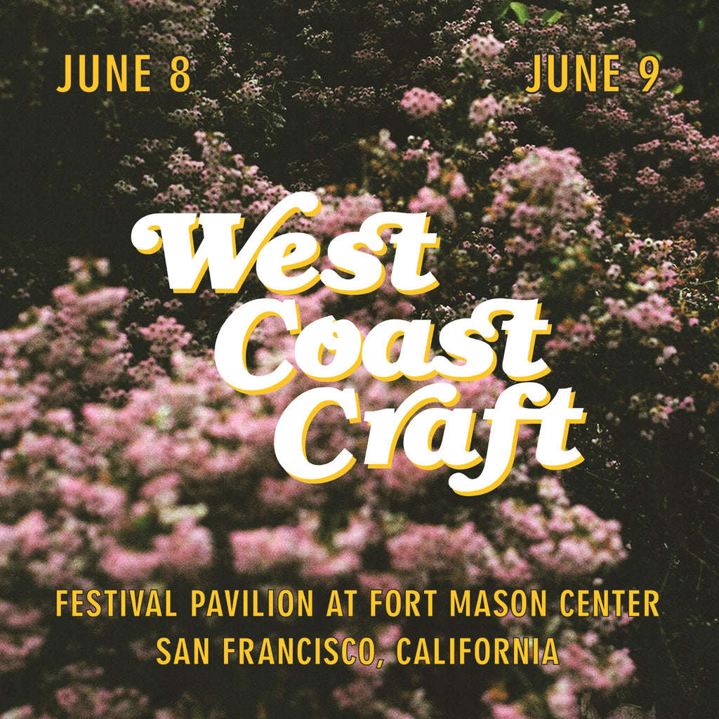 West Coast Craft San Francisco poster