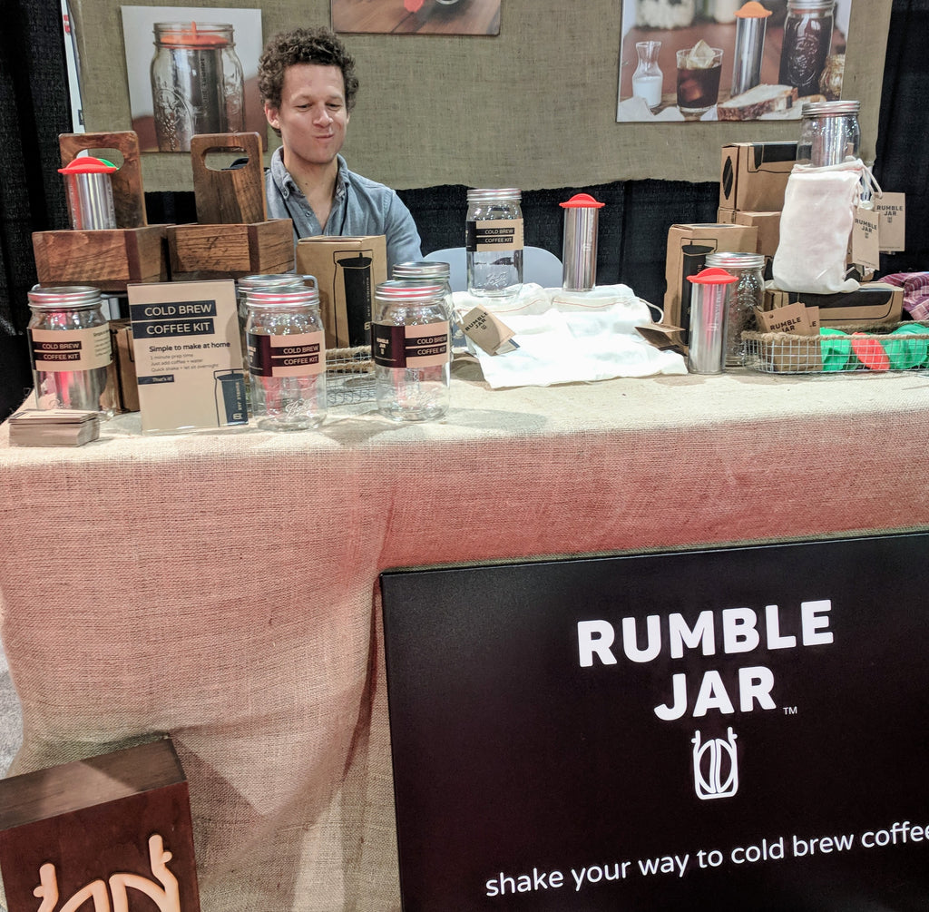 Rumble Jar at Las Vegas Souvenir & Gift Show