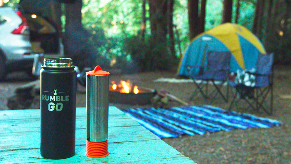 Cold brew coffee works great for camping