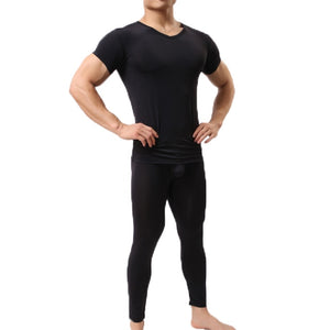 Men's Sleepwear - Leggings & T-Shirt