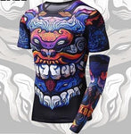 Men's T-Shirt - Dragon with Extra Sleeve