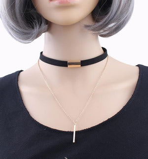 Necklace - Choker Pendant