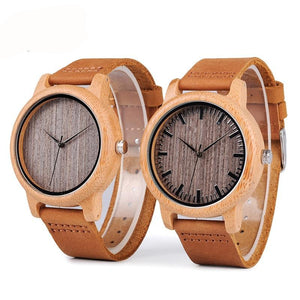 Watch - Bamboo  Quartz