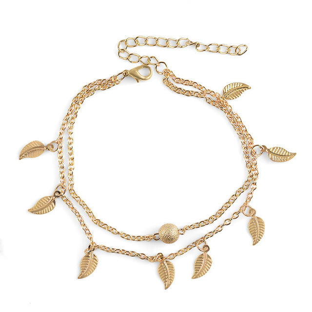 Anklets -  Leaves