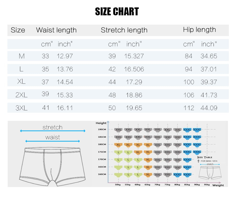 Men's Underwear - Quick Dry Briefs