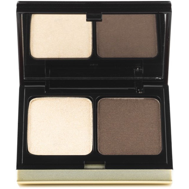 The Eye Shadow Duo - 207 Soft Gold Lame/Smokey Brown
