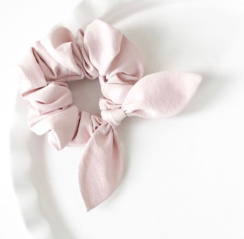 Pink Chickie Scrunchie- Plain Pink