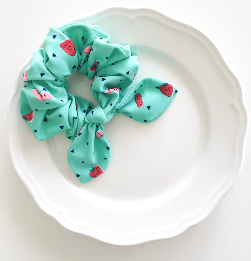 Pink Chickie Scrunchie- Watermelon