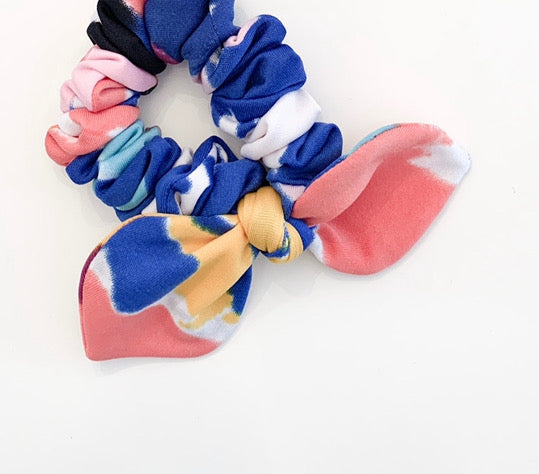Pink Chickie Scrunchie- Splash Of Colour