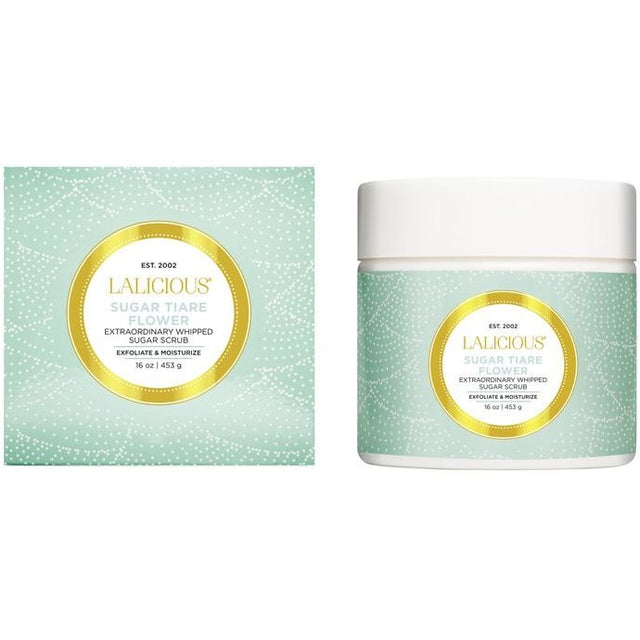 Sugar Tiare Flower Sugar Body Scrub