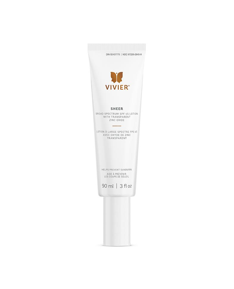Sheer Broad Spectrum SPF 45 Lotion