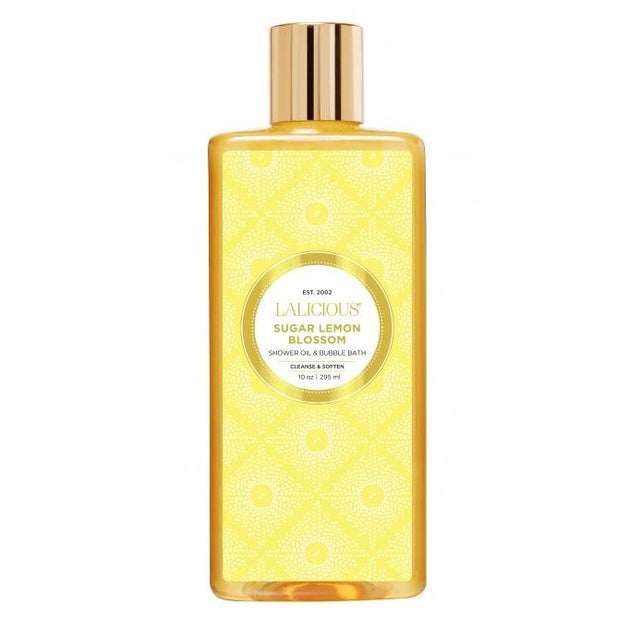 Sugar Lemon Blossom Shower Oil and Bubble Bath