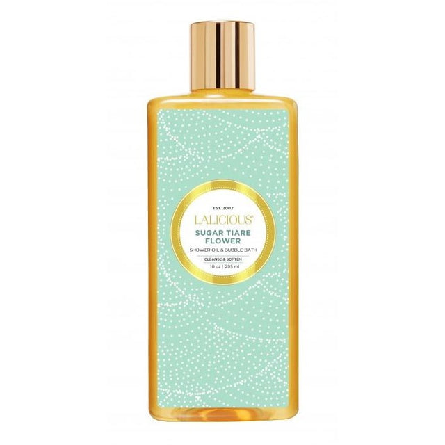 Sugar Tiare Flower Shower Oil and Bubble Bath