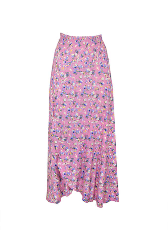 Viola Shirred Waist Maxi Skirt