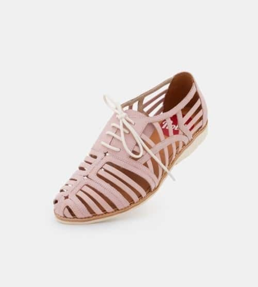 Derby Cage Snow Pink Shoes