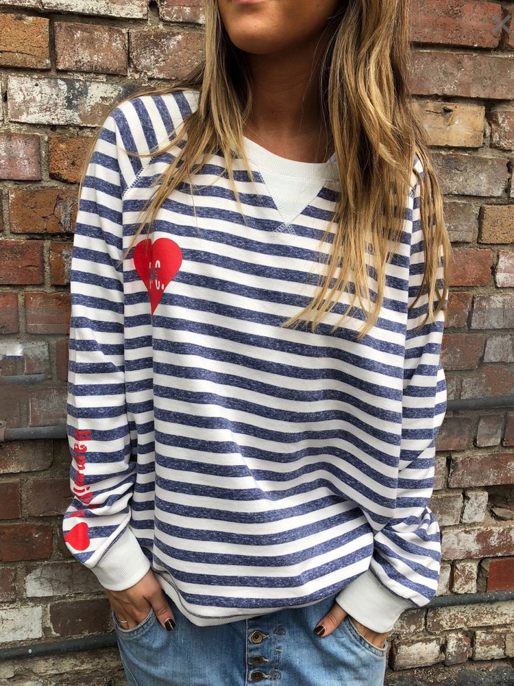 Vintage Super Stripe Sweatshirt