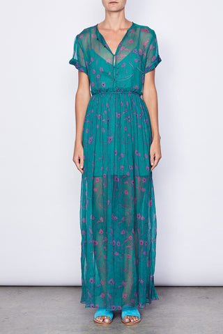 Camillo Silk Chiffon Maxi Dress
