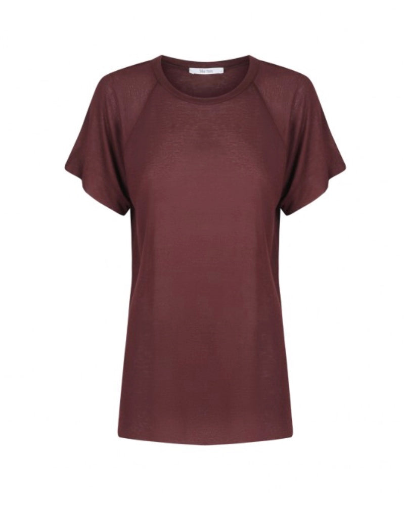 Gracie Tee in Sangria