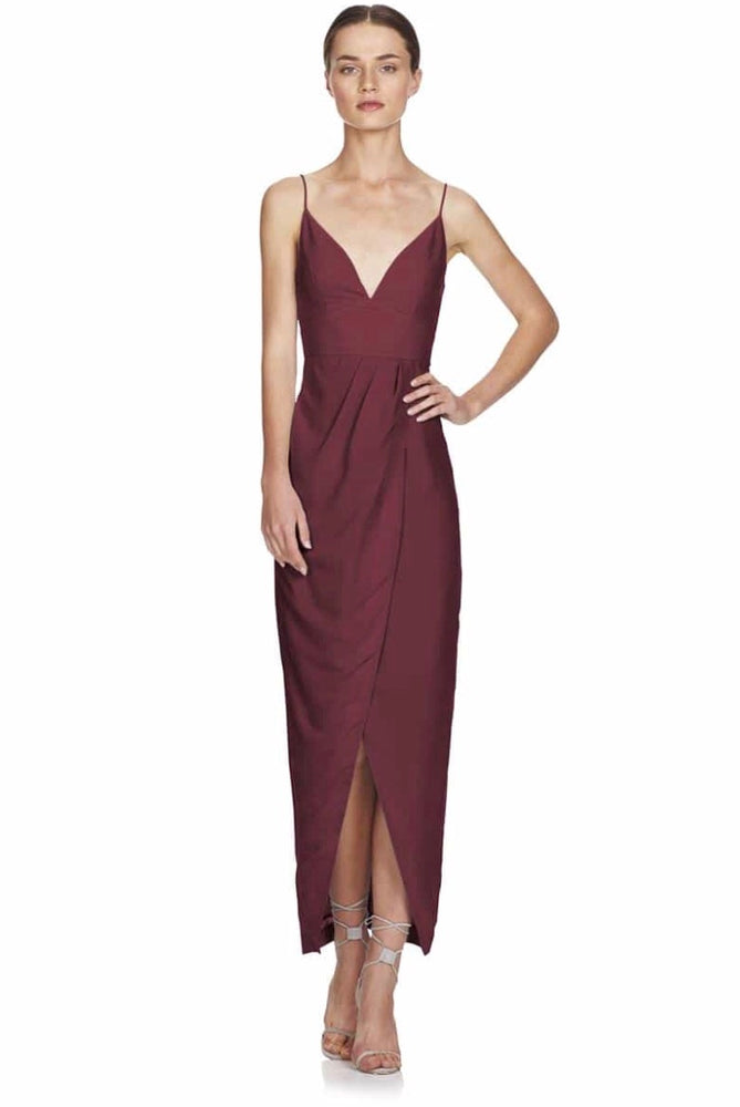 Wandering Eye Maxi Drape Dress