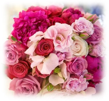 Red and pink flowers for special occasions