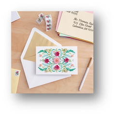 Sending flowers with card - quotes