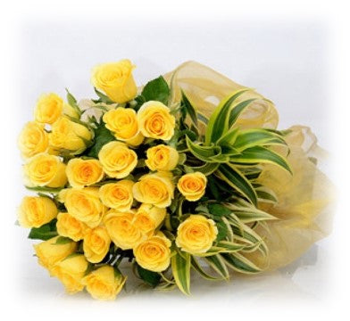 Yellow flowers for friends