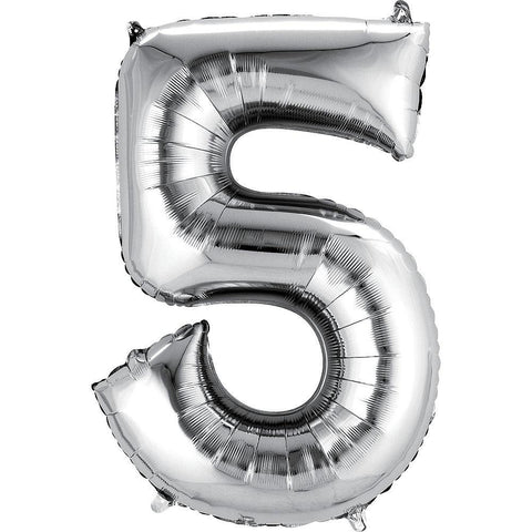 34in Number 5 Balloon