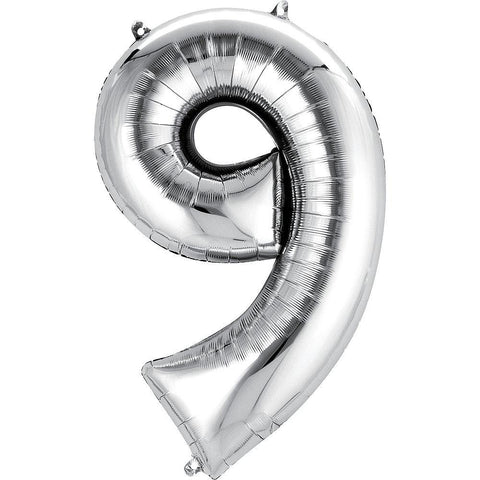 34in Number 9 Balloon