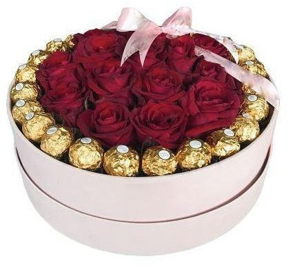 A Box of Roses and Chocolates