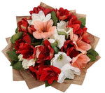 Amaryllis Trio Bouquet