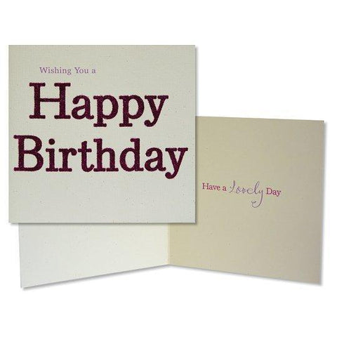 Birthday Card Whishing You A Happy Birthday