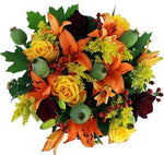 Bouquet of Orange Lily and Roses