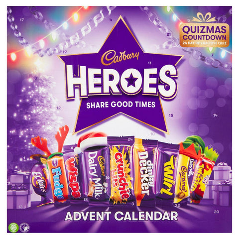 Cadbury Heroes Chocolate Advent Calendar