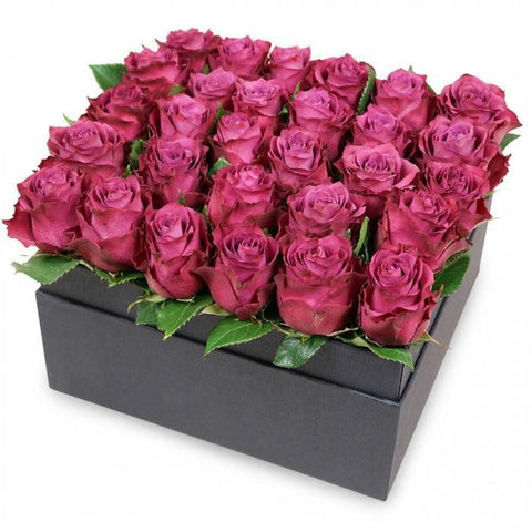 Cerise Roses Signature Box