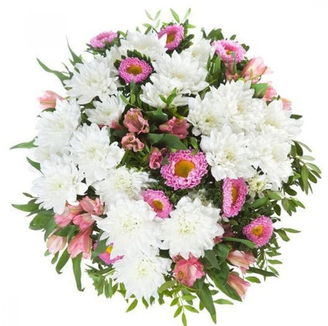 Chrysanthemum and Alstroemeria Bouquet
