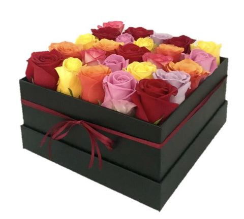 Colored Roses Signature Box