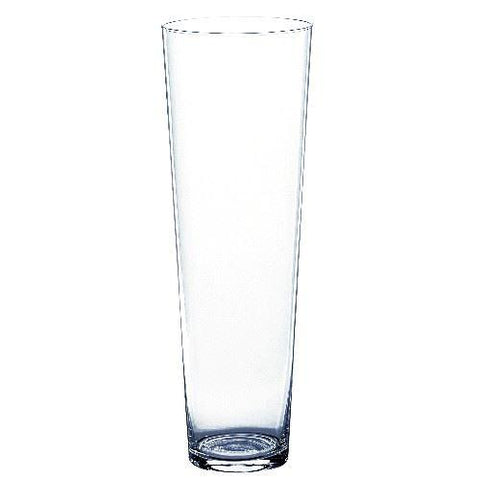 Conical Glass Vase