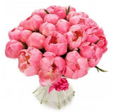 Coral Peonies Bouquet