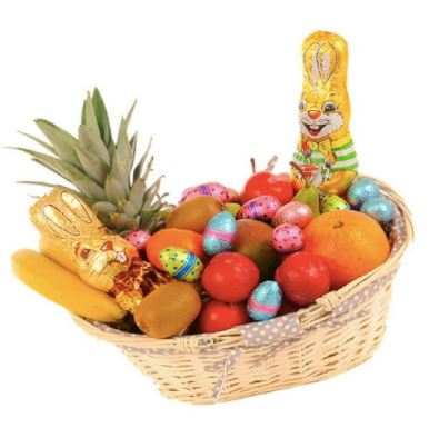 Easter Fruit and Chocolate Basket